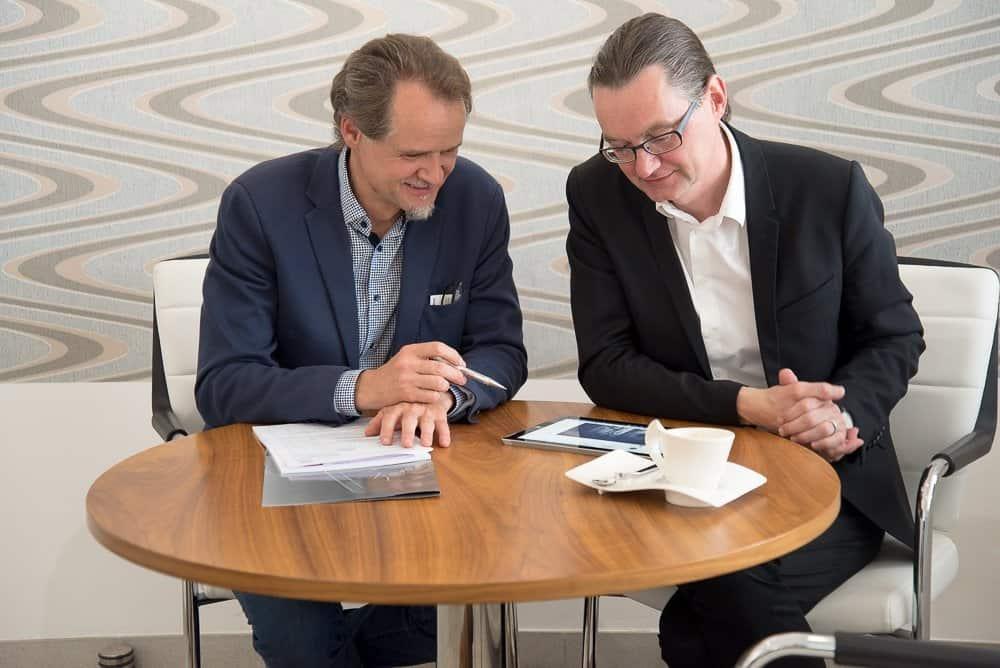v.l.n.r.: Mathias Kühn & Stefan Kühn